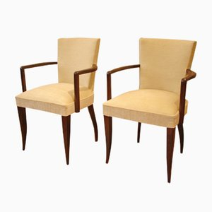 French Bridge Chairs, 1940s, Set of 2