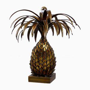 Lampada grande a forma di ananas di Maison Jansen, anni '70