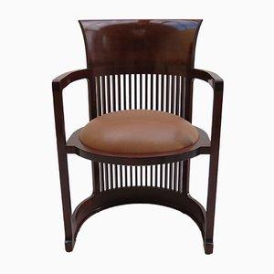 Vintage Taliesin Barrel Stuhl von Frank Lloyd Wright für Cassina