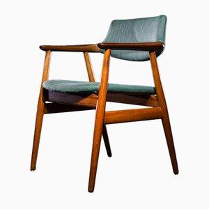 Stuhl aus Teak von Erik Kirkegaard für Glostrup, 1960er