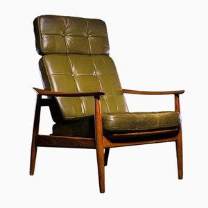 Armlehnstuhl aus Teak von Arne Vodder für France & Søn, 1960er