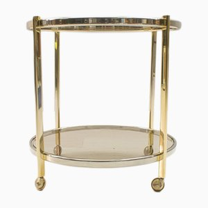 Two-Toned Hollywood Regency Serving Trolley, 1970s