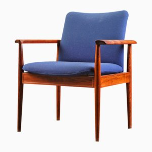 Vintage 209 Diplomat Armchair by Finn Juhl for France & Søn, 1960s