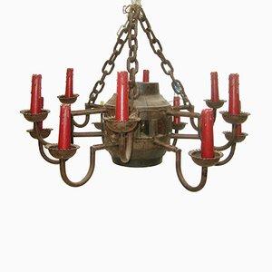 Lámpara de estilo medieval, años 20