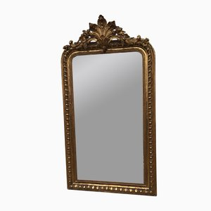 19th Century Louis Philippe Style Gilded Wood Mirror