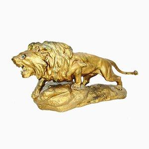 Figura de león modernista de Cartier, 1909