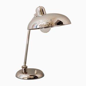 Art Deco Swiveling Nickel Table Lamp, 1930s