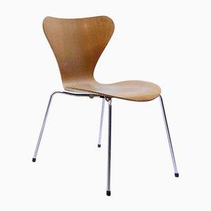 Sedia serie 7 vintage di Arne Jacobsen per Fritz Hansen