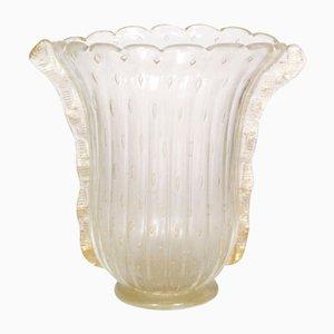 Vase Art Déco en Verre de Murano par Barovier & Toso