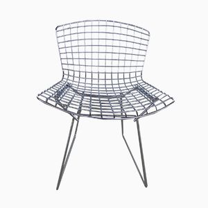 Chrome Chair by Harry Bertoia for Knoll Inc.