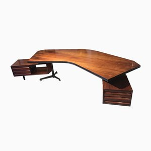 Bureau Boomerang Vintage par Osvaldo Borsani