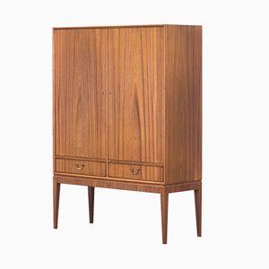 Vintage Mahogany Cabinet by O. Bank Larsen, 1950s