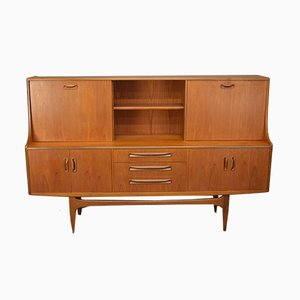 Mid-Century Fresco Highboard von Victor Wilkins für G-Plan