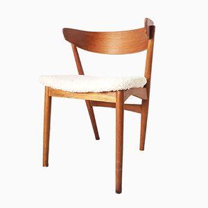 Vintage Nr. 7 Beistellstuhl von Helge Sibast für Sibast, 1950er