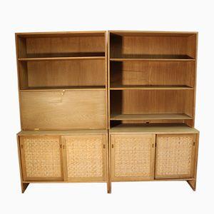 Oak Cabinet by Hans J. Wegner for Ry Mobler, 1960s