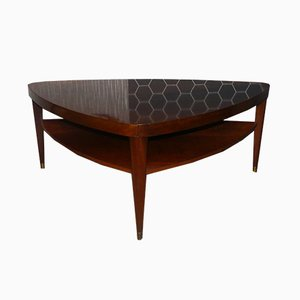 Vintage Triangular Coffee Table, 1960s