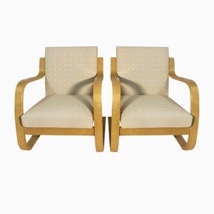 Fauteuils Vintage par Alvar Aalto pour Artek, 1975, Set de 2