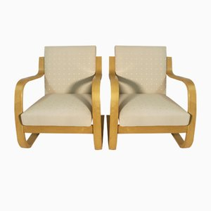 Poltrone vintage di Alvar Aalto per Arteak, 1975, set di 2