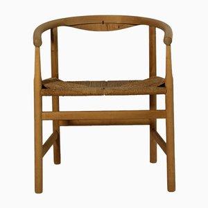 Armchair by Hans J. Wegner for Johannes Hansen, 1970s