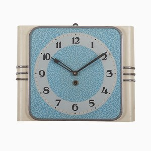 Vintage Art Deco Wall Clock from Kienzle International