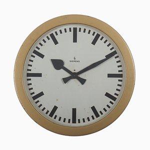 Horloge d'Usine Industrielle de Siemens & Halske, 1950s