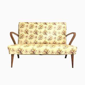 Vintage Floral Sofa, 1940s