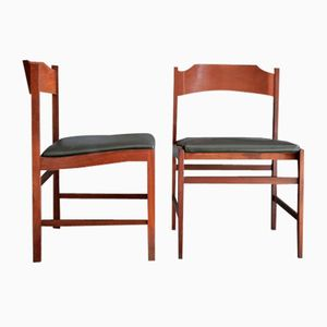 Swedish Dining Chairs, 1960s, Set of 2