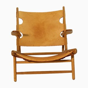 Hunting Chair Model 2229 by Børge Mogensen for Fredericia, 1970s