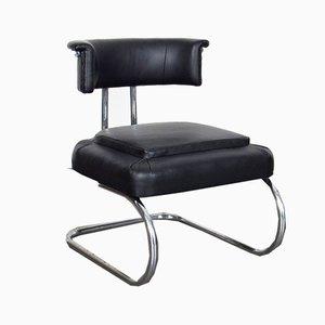 Petite Chaise d'Appoint Tubulaire de Style Bauhaus, 1930s