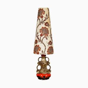 Mid-Century Ceramic Floor Lamp