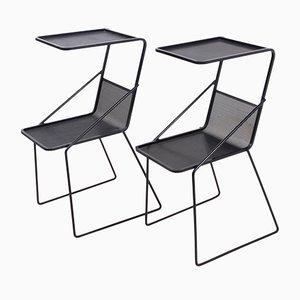 Bedside Tables by Mathieu Matégot, Set of 2