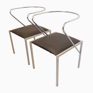 Apple Honey Beistellstühle von Shiro Kuramata für Pastoe, 1980er, 2er Set