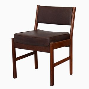 Vintage Danish Teak Dining Chair, 1970s