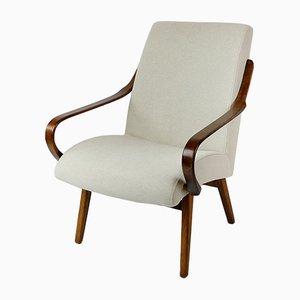 Beigefarbener Vintage Sessel, 1960er