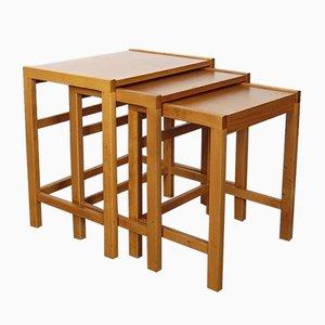 Tables Gigognes Vintage, Tchéquie, 1970s