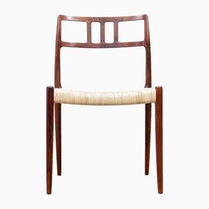Modell 79 Esszimmerstühle aus Rio-Palisander von Niels Otto (N. O.) Møller für J.L. Møllers, 1960er, 6er Set