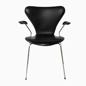 Vintage 3207 Chair by Arne Jacobsen for Fritz Hansen, 2000