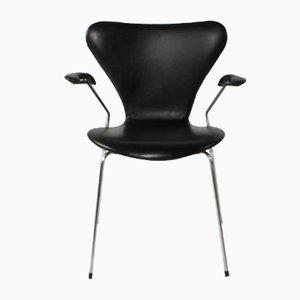Vintage 3207 Stuhl von Arne Jacobsen für Fritz Hansen, 2000