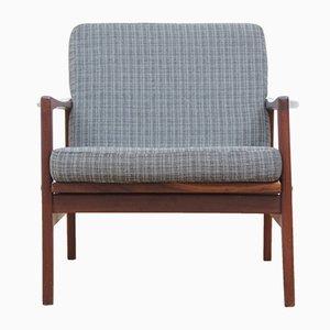 Dänische Vintage Sessel mit Gestell aus Teak, 1960er, 2er Set