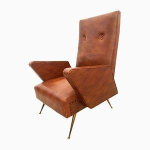 Vintage Italian Armchair, 1960s