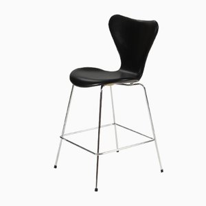 Vintage 3187 Stool by Arne Jacobsen for Fritz Hansen, 2000