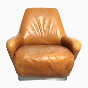 Italian Vintage Swivel Armchair by Giulio Moscatelli for Formanova, 1965