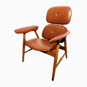 Italian Mid-Century Lounge Chair from Poltronova, 1970