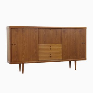 Vintage Danish Teak Highboard by H.W. Klein for Bramin