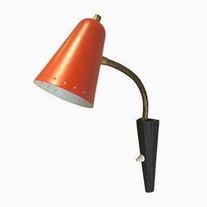 Kleine Vintage Wandlampe von H. Th. J. A. Busquet für Hala