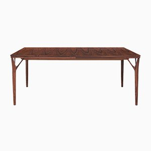 Danish Rio Rosewood Dining Table by Helge Vestergaard Jensen, 1970s