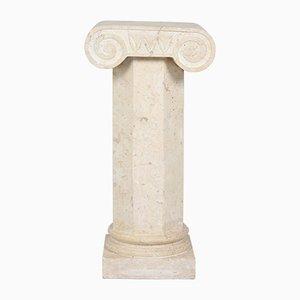 Vintage Italian Composite Plinth Column