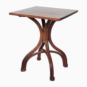 Tavolino vintage in mogano di Hescot