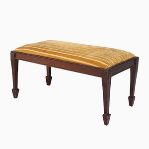 Tabouret Antique en Acajou