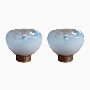 Lampade da tavolo vintage, Italia, anni '70, set di 2